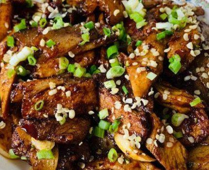 火麻仁笋干回锅肉,肥而不腻,美味下饭