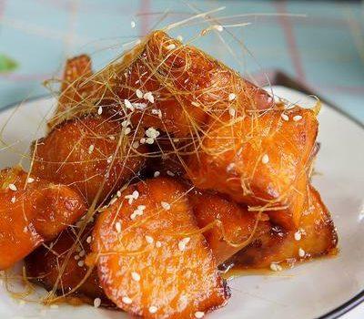 做拔丝红薯不成功,熬糖是关键,大厨教你简单好方法,拔丝半米长