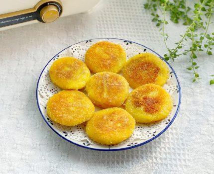 南瓜饼这样做香糯美味,不油炸不烘烤,做法简单一学就会